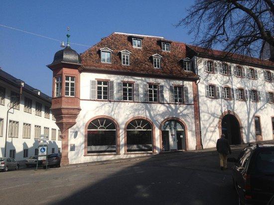 Arthotel Heidelberg, traditionelle Fassade von der Strasse