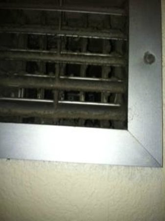 Baymont Inn & Suites Macon/Riverside Drive: Molded Vent in Restroom
