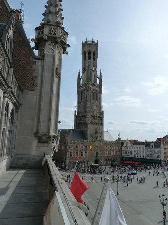 Historic Centre of Brugge : С балкона музея Historium