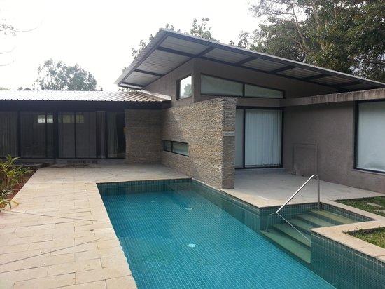 Hilton Shillim Estate Retreat & Spa : Spa pool villa