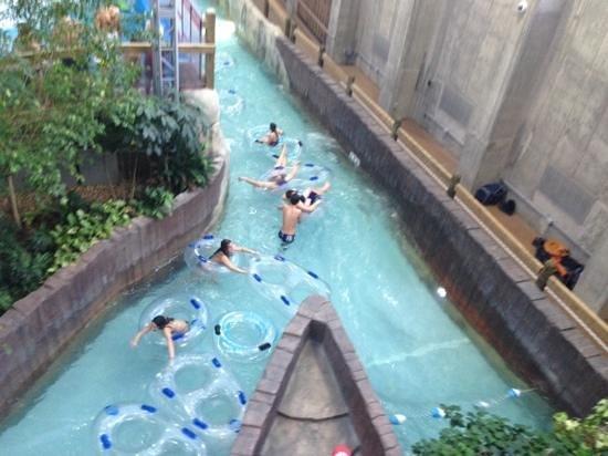 Jay Peak Resort: lazy river