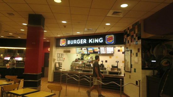 Burger King Picture Of Miami International Airport Hotel Miami