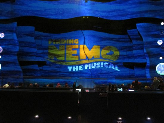 Finding Nemo - The Musical: Bon spectacle