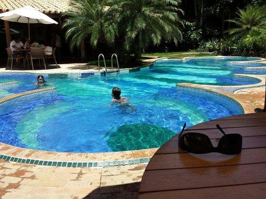 Hotel Via dos Corais : Piscins