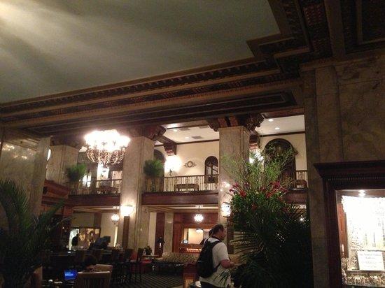 The Peabody Memphis: Beautiful lobby