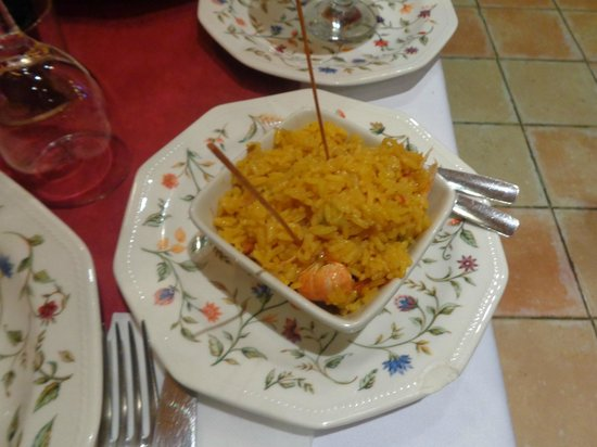 El Rey Moro Hotel Boutique Sevilla: Paella tapas