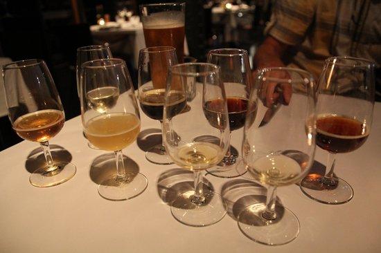 The Old Brewery: beer-tasting