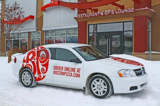 Boston Pizza: Now offering Delivery