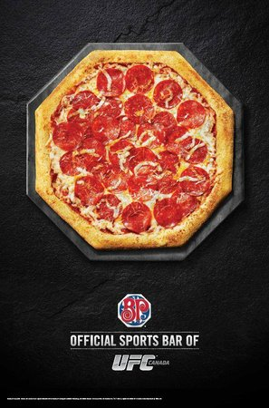 Boston Pizza: Join us for UFC, Drumhellers UFC leader!