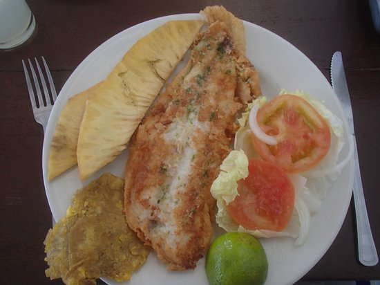 Restaurante El Paraiso: The breadfruit chips were great too!