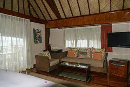 Hilton Moorea Lagoon Resort & Spa: Our bungalow