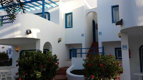 Aparthotel Paradise Island: les appartements