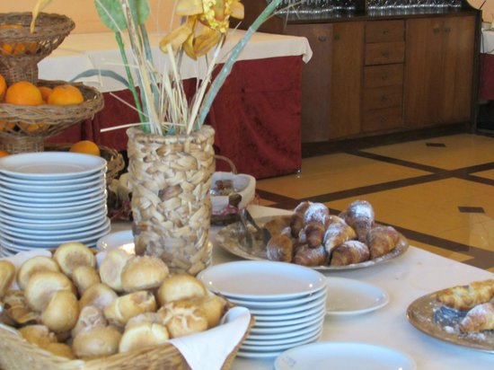 Hotel Tre Torri: la prima colazione
