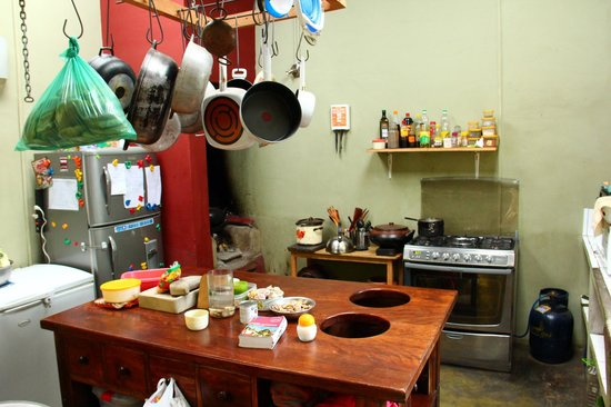 Yellow River: Our kitchen, feel free to see what we're doing.