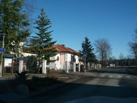 Villa Meretare: вид с улицы