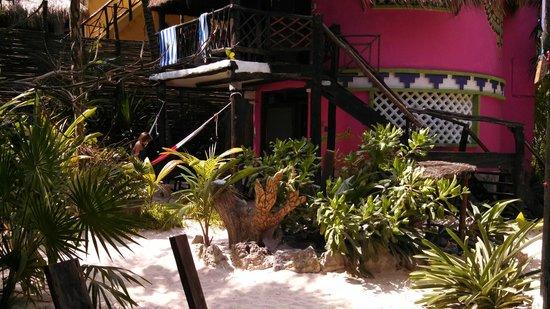 Dos Ceibas Eco Retreat: 2 level bungalo