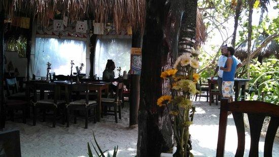 Dos Ceibas Eco Retreat: Cafe/Restaurant