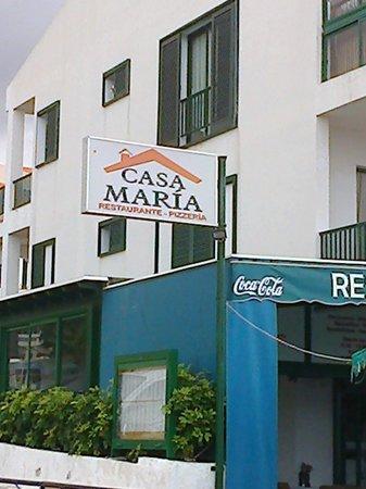 Casa Maria: grande spazio all'aperto