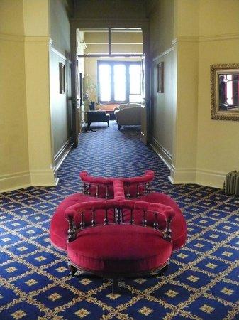 The Carrington Hotel: the furniture!