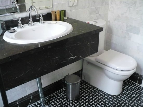 The Carrington Hotel: clean..renovated bathrooms!