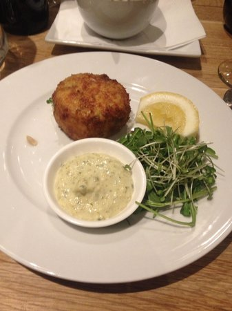 Lewinnick Lodge: Garlic and leek fishcake starter