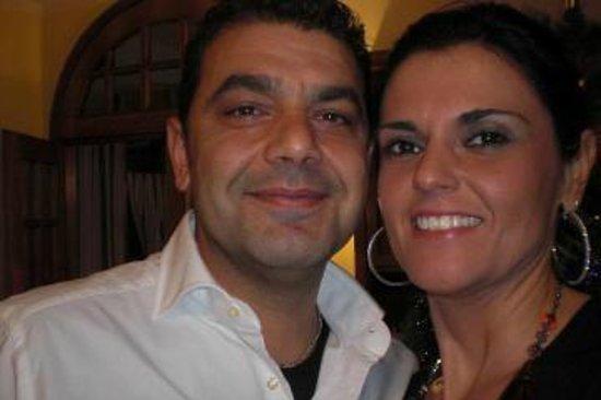 Chiosco di Bacco: Roberto e Daniela ( i Titolari)