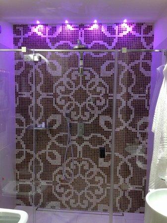 Hotel Moresco : La douche
