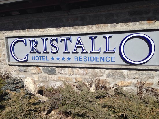 Hotel Cristallo : Entrata hotel