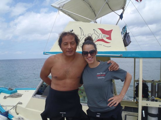Alex Scuba: Alex and Jen at the Pier