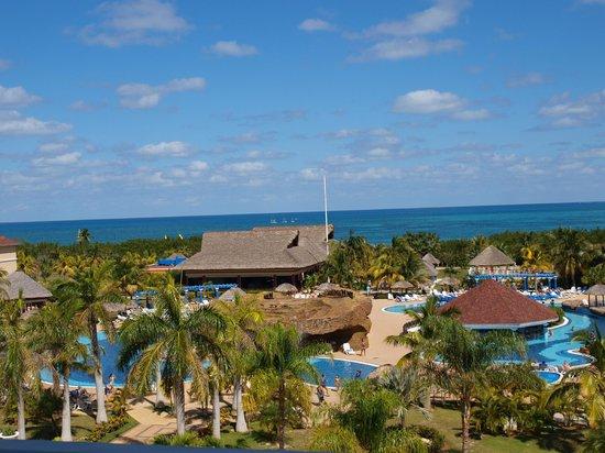IBEROSTAR Laguna Azul : vu de la réception de la plage
