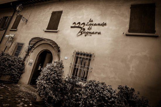 La Locanda Bagnara: ingresso