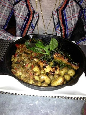 Fig & Olive Fifth Avenue: Provence Roasted Chicken -- wow!!