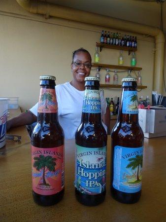 Island Flavor: Super Smile and Super Beer!