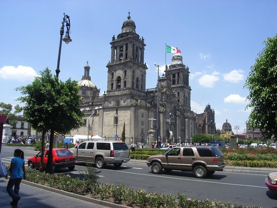 Historic Center (Centro Historico): Cathedral at the Zocolo