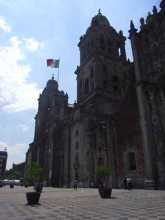 Historic Center (Centro Historico): zocolo