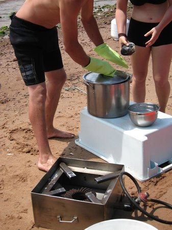Tranquility Cove Adventures: Cooking on the beach