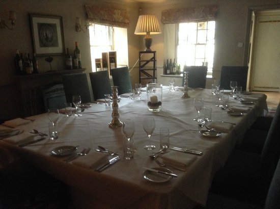 The White Swan Inn : Dining Room