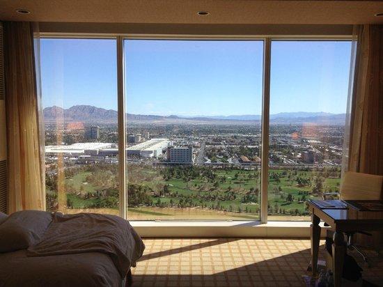Wynn Las Vegas: Vista desde habitación en piso 38