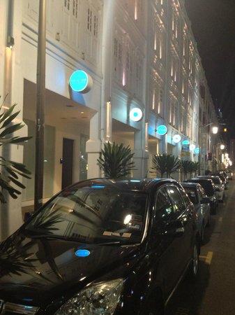 The Porcelain Hotel: Расположение у отеля очень выгодное