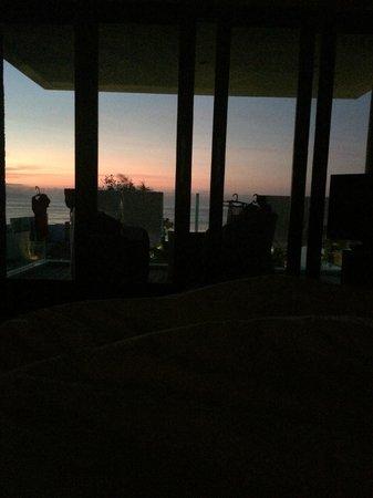 Bali Diamond Villas: View of sunrise from the master bedroom