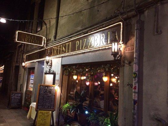 Trattoria Agli Artisti: Front of restaurant