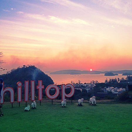 Sunset at The Hilltop