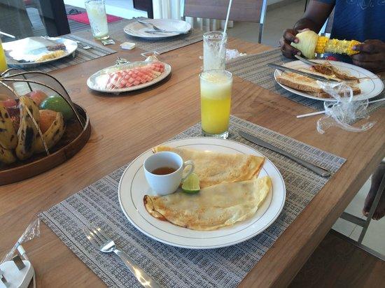 Bali Diamond Villas: Breakfast