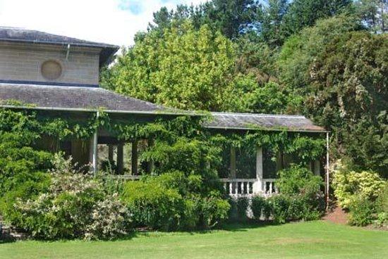 Garnish Island : Die Rückseite des einstigen Tee- und Gästehauses, Casita genannt
