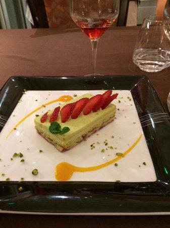 Domaine du Revermont : Dessert
