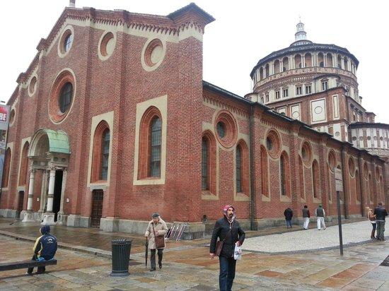 Sainte-Marie-des-Grâces (Santa Maria della Grazie) : У входа в Музей