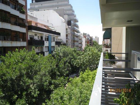 BA Sohotel: View from the balcony
