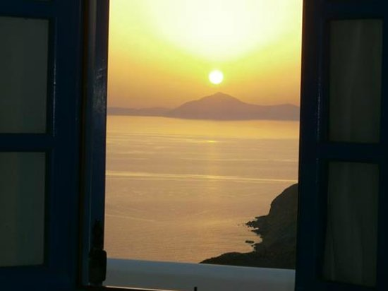 Anafi Greece Dream Studios: Fabulous view from the apartment.