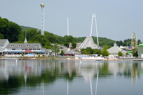 Lake Compounce: View from the Lake
