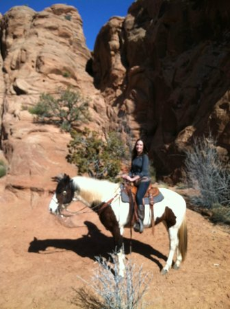 MH Cowboy - Day Tours: Right after the petroglyphs